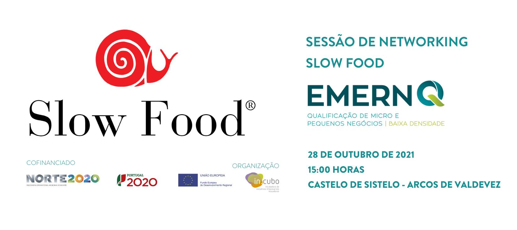 Sessão Networking Slow Food - EMERN-Q